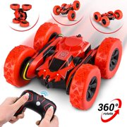 Abco Tech Remote Control RC Stunt Car Toy Rotating Racing Car 360 Flip 12 km/ Hour