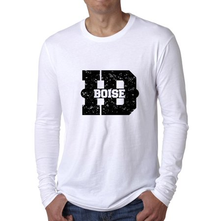 Boise, Idaho ID Classic City State Sign Men's Long Sleeve - Halloween City Boise