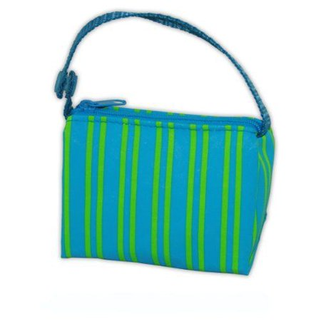 Pacifier Pouch (BooginHead Blue-Green Stripe PaciPouch Pacifier Bag Holder Paci)