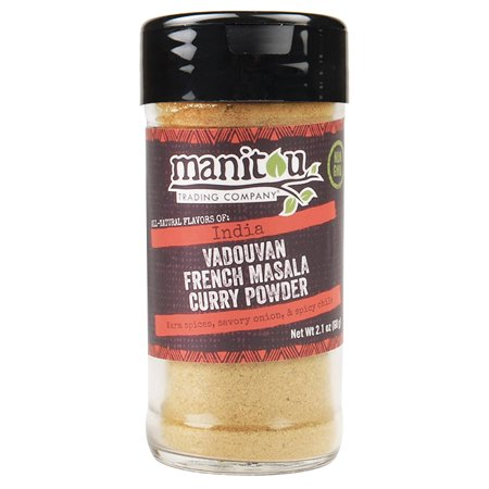 Vadouvan French Masala Curry Powder, 2.1 Ounce (Best Chana Masala Powder)