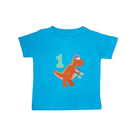 Dinosaur 1st Birthday Party Baby T Shirt