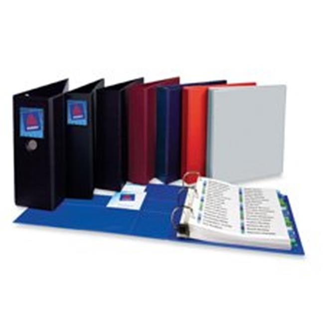 Consumer Products  3-Ring EZD Binder- 1in. Capacity- 8-.50in.x11in.- Blue