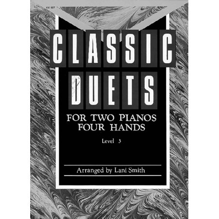 Classic Duets for Two Pianos - Level 3 - Lani Smith - SongBook - KK507