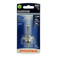 Sylvania 9003 SilverStar Auto Halogen Headlight Bulb, Pack of 1.