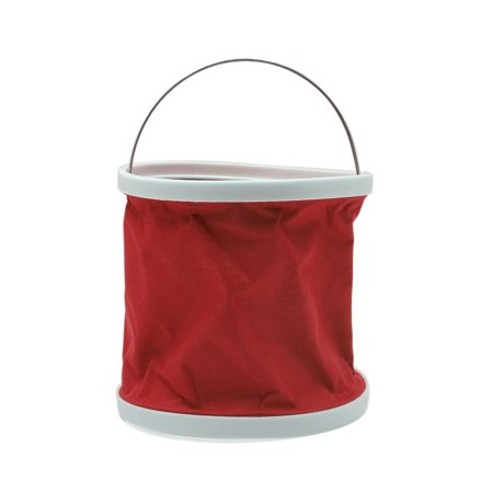 11L Outdoor Folding Collapsible Bucket Water Container Car Washing  Red - Collapsible Halloween Bucket