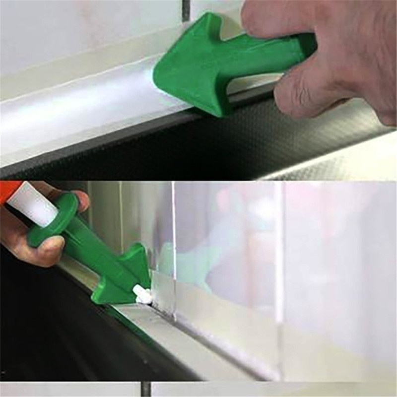 Silicone Caulking Finisher 3 in 1 Sealant Tool Nozzle Spatulas Filler Spreader
