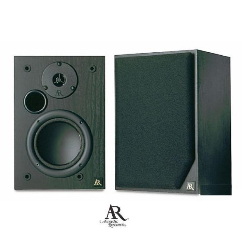 Acoustic Research AR 215PS Main 5 -1 4 2 way Bookshelf   Stereo Speaker (BLACK) by Acoustic Research