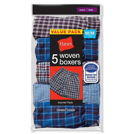 Hanes Boys Red Label Tartan Boxer - B841W5 (Hanes Boys Red Label)