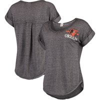 Women's Concepts Sport Heathered Gray Baltimore Orioles Crosspoint T-Shirt