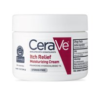 CeraVe Itch Relief Moisturizing Cream for Dry Skin, 12.0 OZ