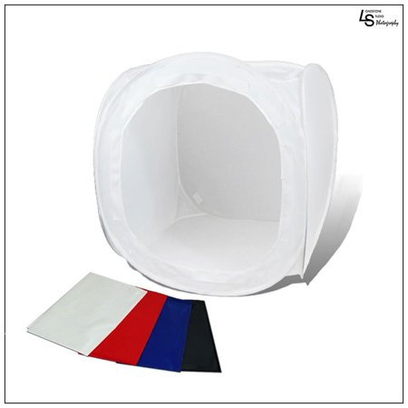 Deals Foldable Lighting Cube Tent in size 40″x40″x40″ with Multiple Color Backdrops for Product Photography by Loadstone Studio WMLS0878 Before Special Offer Ends