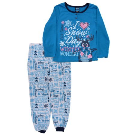 094839335ed9 Jellifish Kids - Jellifish Kids Girls Blue Pajamas PJs Penguin ...