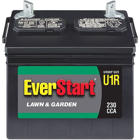 Everstart Lawn Garden Battery