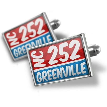 Cufflinks 252 Greenville, NC red/blue - - Halloween Greenville Nc
