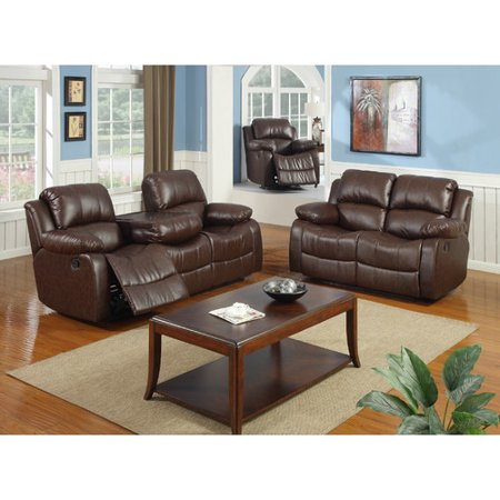 Best quality furniture bonded leather 3 piece recliner for Best place for quality furniture