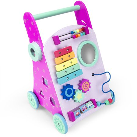 Brybelly TCDG-062 Marcheur rose Push-n-Play - image 3 de 5