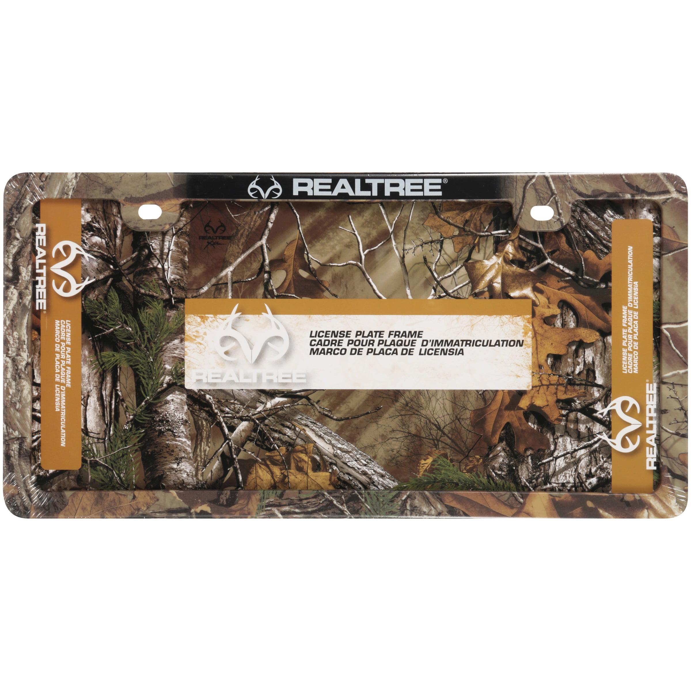 Realtree Xtra Camo License Plate Frame - Walmart.com