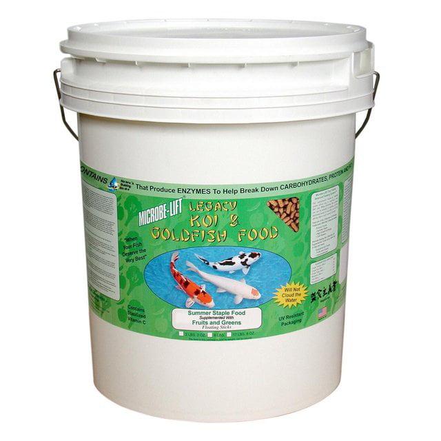 Mazuri Koi Platinum Nuggets Floating T Complete Nutrition Pet Food 20 Lbs
