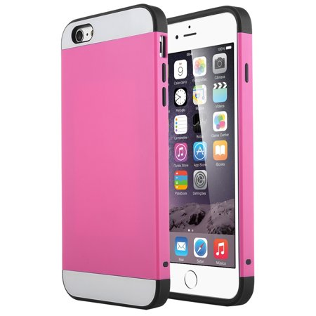 iPhone 6 Plus Case, ULAK Impact Resistant iPhone 6S Plus Case Anti-scratch Protective Shell Shockproof TPU Bumper Cover Card Slot Holder for iPhone 6/6S Plus 5.5 - Halloween Wallpaper Iphone 6 Plus