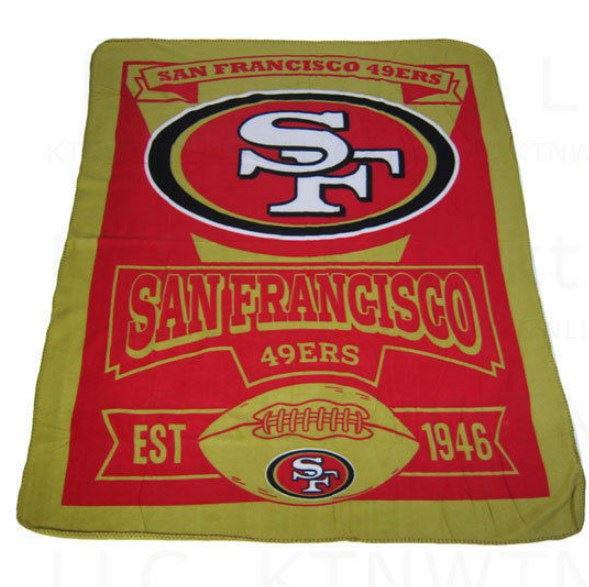 Northwest NFL Rolled Fleece Throw Blanket ( 031-NFLSINGULAR )
