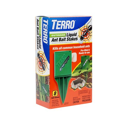 TERRO Outdoor Liquid Bait Stakes