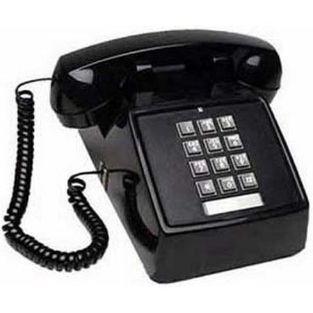 Cortelco 2500-MD-BK Single Line Desk Telephone