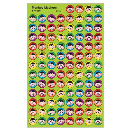 MONKEY MAYHEM SUPERSPOT SHAPES STICKERS