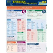 BarCharts 9781423217404 Spanish Conversation Quizzer Quickstudy Easel