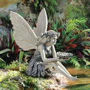 Design Toscano The Sunflower Fairy Sculpture