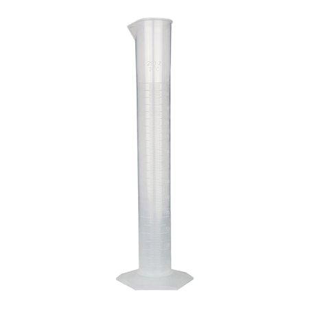 GSC International CYPP-250 Polypropylene Graduated Cylinder with Hex Base - 250ml