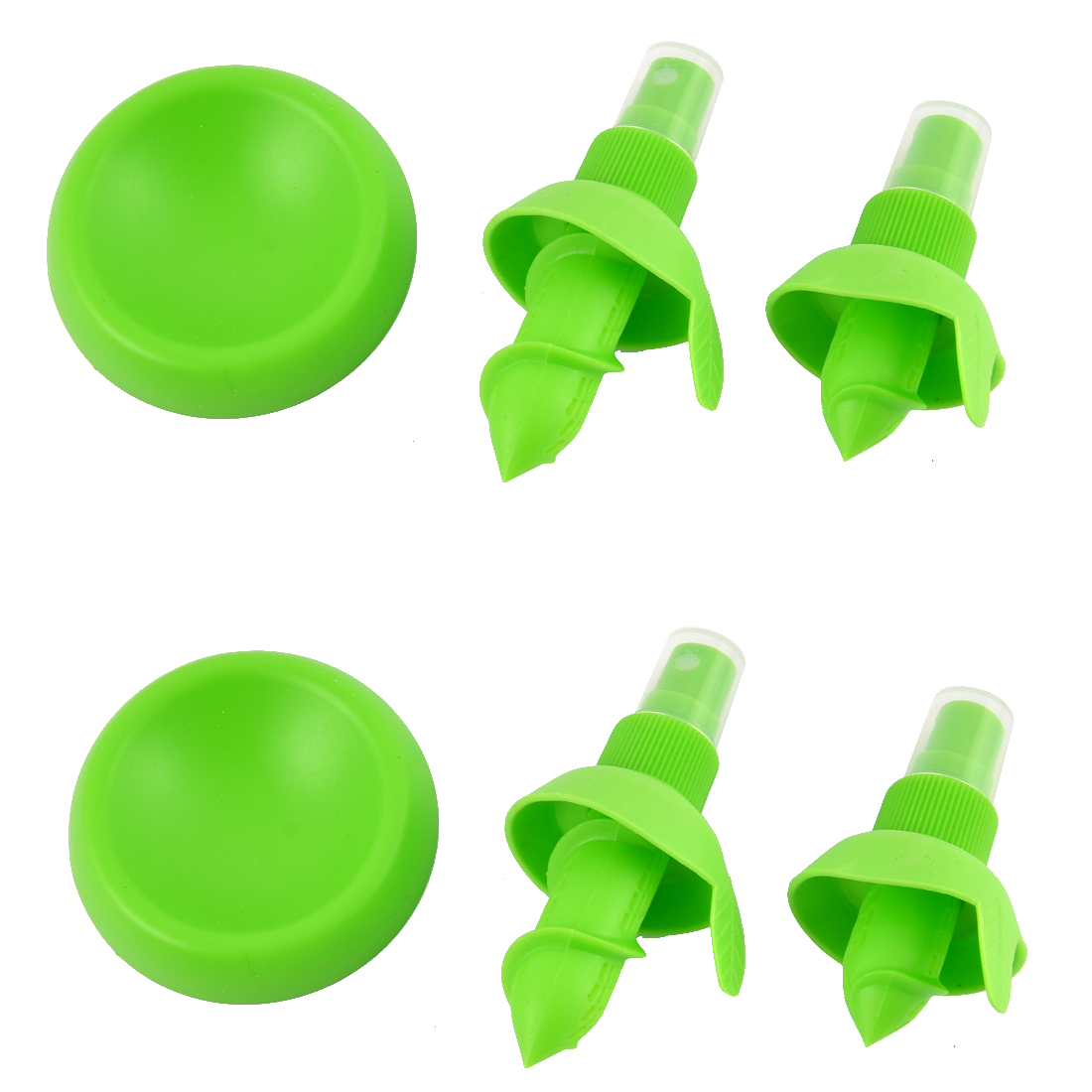 Kitchen Lemon Friut Juice Sprayer Citrus Spray Squeezer Reamer Hand Juicer 2 Set