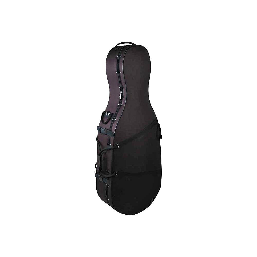 Bellafina Featherweight Cello Case Black 3 4 Size by Bellafina