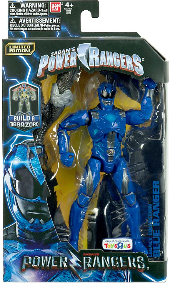 Power Rangers Legacy Build A Megazord Blue Ranger Action Figure [Movie] by