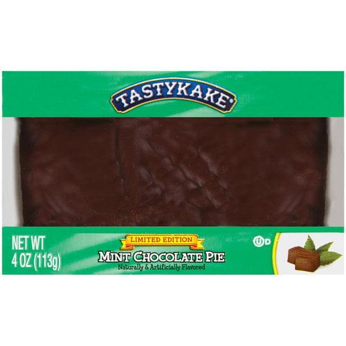 Tastykake Mint Chocolate Pie, 4 oz