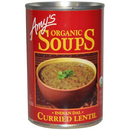 Amy's, Organic Soups, Curried Lentil, Indian Dal , 14.5 oz (pack of 4)