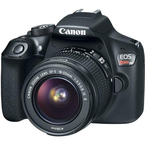 Canon EOS Rebel T6 EF-S 18-55 IS II