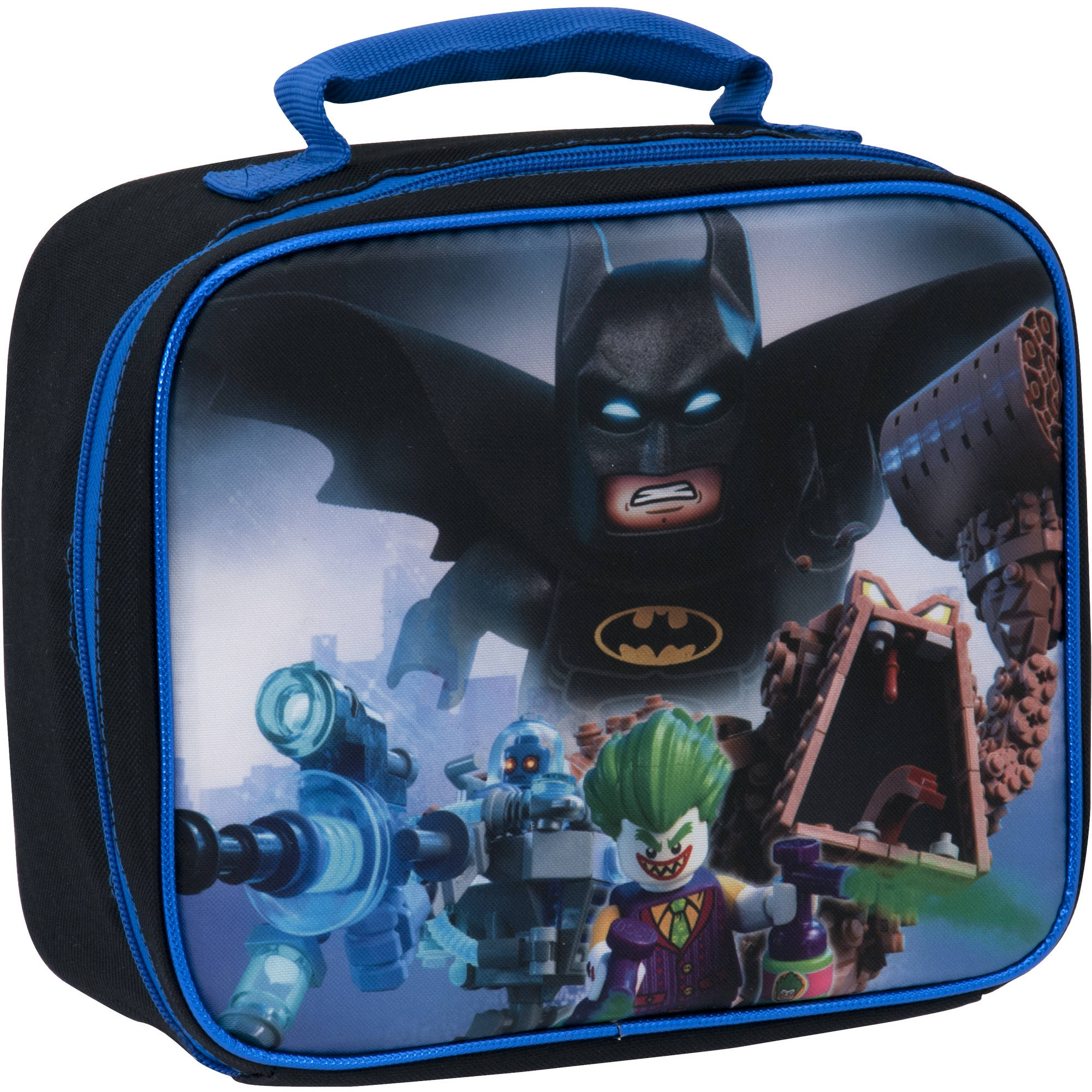 Lego Batman Insulated Double Sided Rectangular Lunch Bag