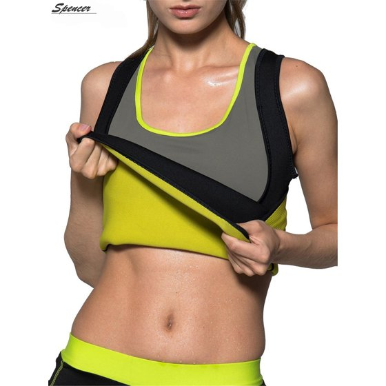 f43acae554f Spencer - Spencer Women s Body Shaper Tank Top Slimming Vest Tummy ...