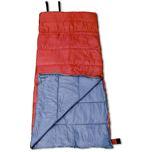 GigaTent Badger 35-Degree Adult Sleeping Bag, Red