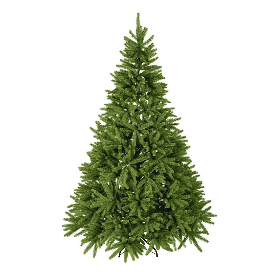 7 Foot Ft Artificial Christmas Trees Fir Spruce Full Tree Made Of Pe