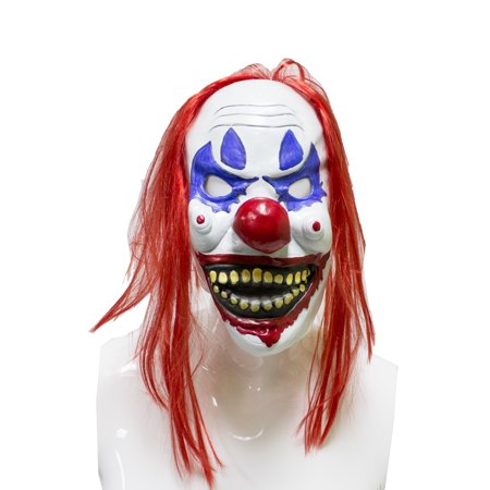 Really Scary Halloween Photos (StylesILove Adult Latex Full Head Horror Mask Zombie Mask Halloween Scary Mask Costume for Halloween Party, Cosplay Events and Photo Props)