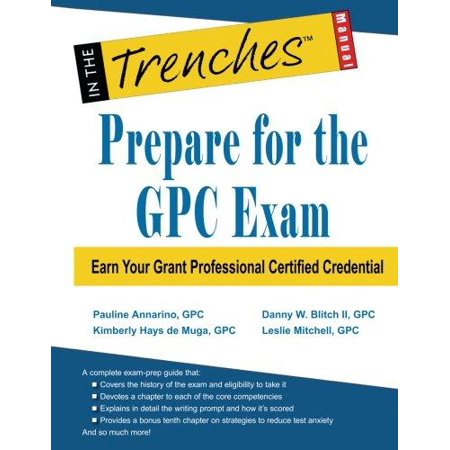 Prepare For The Gpc Exam  Earn Your Grant Professional Certified Credential