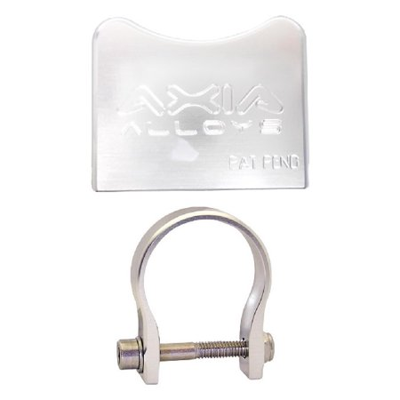 "Axia Alloys Silver Garmin Handheld GPS Mount + 2.0"" Clamp thumbnail"