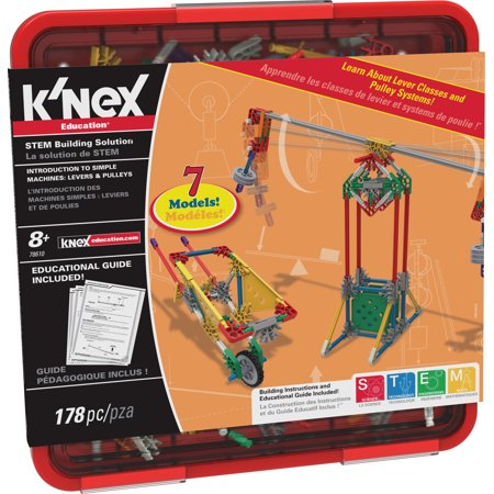 K Nex Education Intro To Simple Machines Levers And Pulleys Set