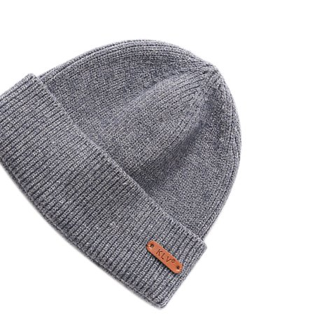 Ustyle Outdoor Autumn Winter Casual Knit Hats Women Men Beanie Hat Warm Knitted Caps Solid Color - image 4 of 9