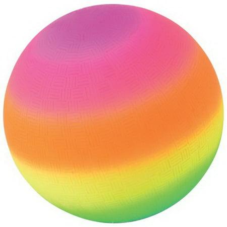 Rainbow Bell ((Price/Dozen)US TOY GS830 Rainbow Playground Balls, 5 inch)