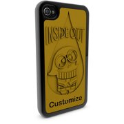 Apple iPhone 4 and 4S 3D Printed Custom Phone Case - Disney/Pixar Inside Out - Sadness