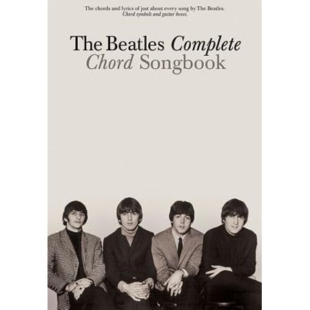 The Beatles Complete Chord Songbook (Word Music Songbook)