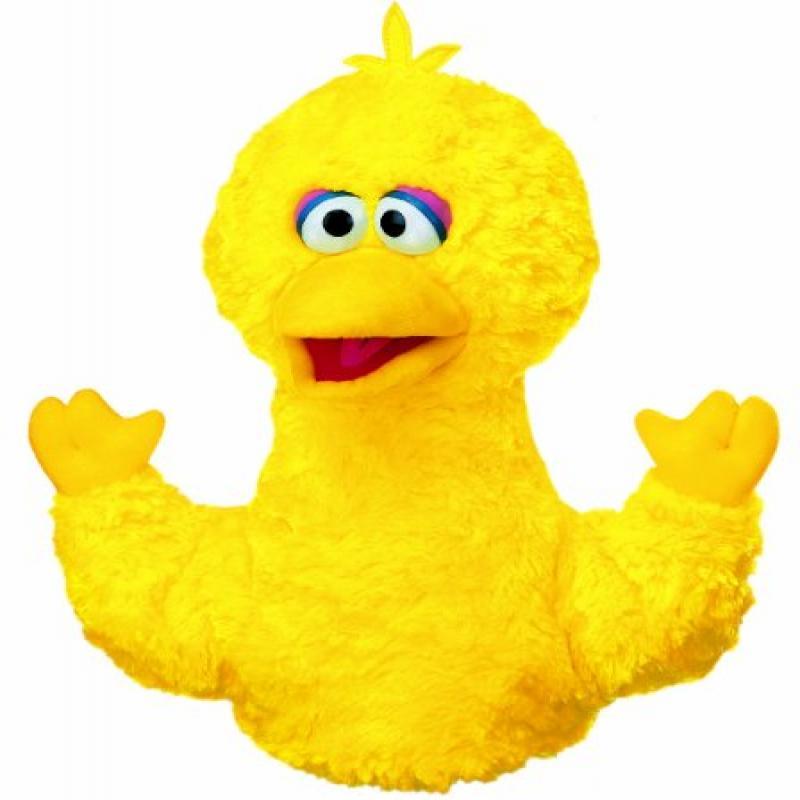 GUND Plush Big Bird Hand Puppet