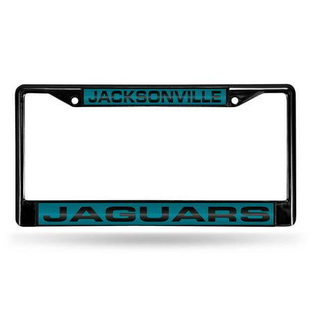 Jacksonville Jaguars NFL Laser Cut Black License Plate Frame ...